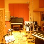 Vocal booth & main room