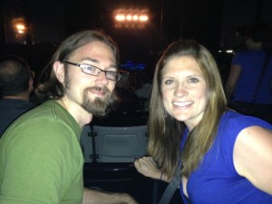 Together at Depeche Mode in Chicago, August 2013